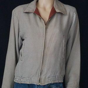 Vintage 40s 50s Ricky Reversible Jacket Unisex